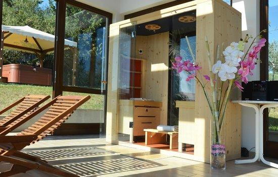 Nonna Rana Holidays Apartments: Sauna