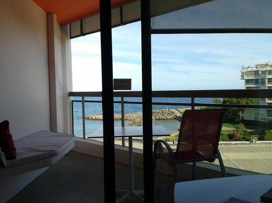 Pullman Cannes Mandelieu Royal Casino: Vue chambre