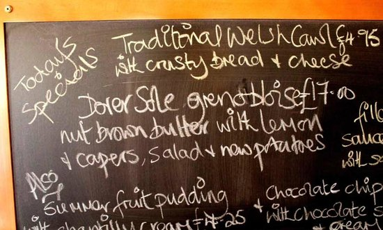 The Old Sailor's: Dover Sole etc