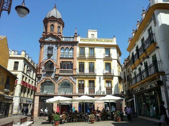 Barrio Santa Cruz : quartier de santa cruz
