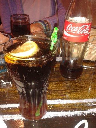 A la Peche aux Moules: coca