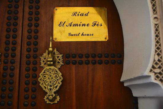 Riad el Amine Fes: L'ingresso del RIad