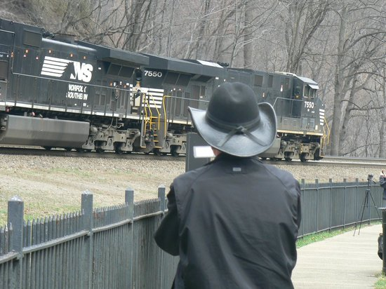 Horseshoe Curve National Historic Landmark: Great For Taking Pictures
