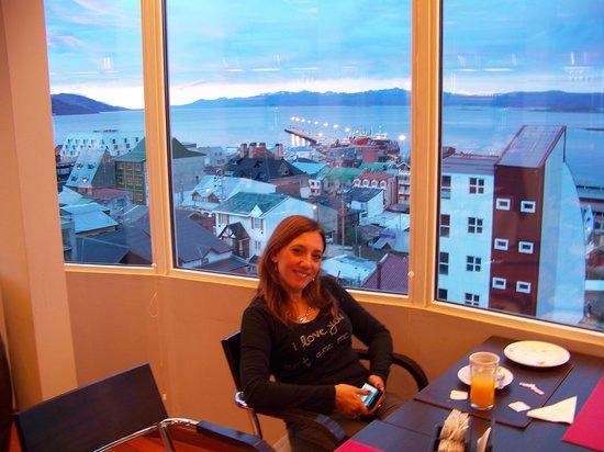 Alto Andino Hotel : Desayunando