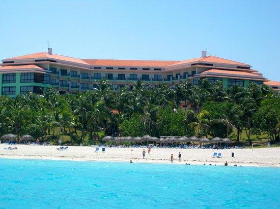 Melia Las Americas: L'hôtel de notre pédalo sur l'atlantique...