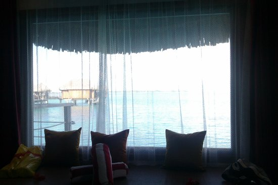 Sofitel Bora Bora Marara Beach Resort: view from our bed