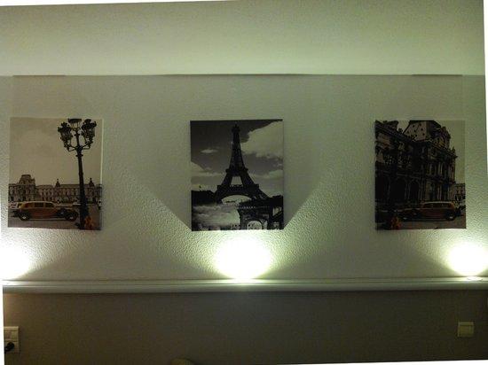 Euro Hotel Paris Creteil : Jolie déco, sobre