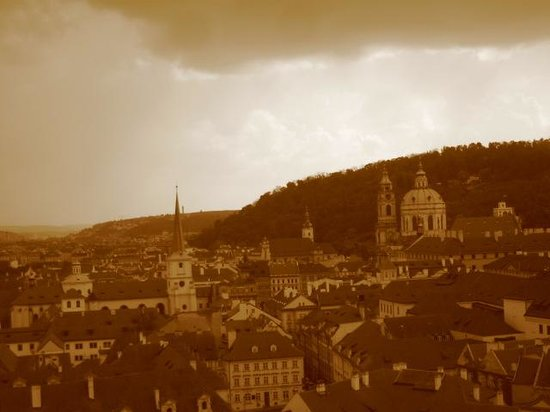 Hotel Sovereign: city from Prague Castle