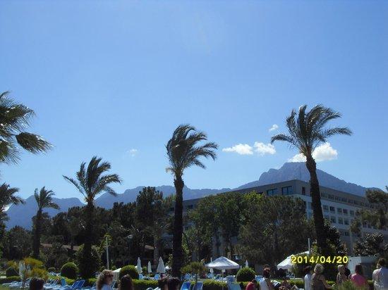 Mirada del Mar : вид на горы