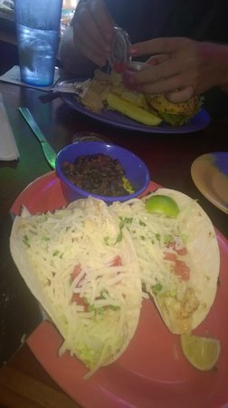 Frenchy's Saltwater Cafe : disappointing tacos… More average cheese/lettuce than good shrimp…
