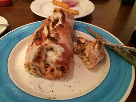Benito's Brick Oven Pizza & Pasta : BBQ Chicken Stromboli