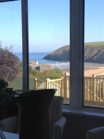 Seavista: view from the breakfast room!