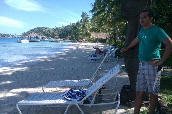 Sofitel Bora Bora Marara Beach Resort : marara beach