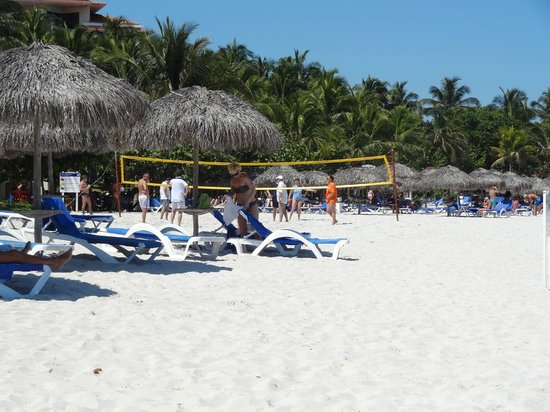 Melia Las Americas: Beach and Volleyball