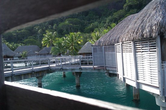 Sofitel Bora Bora Marara Beach Resort: over the water bungalows