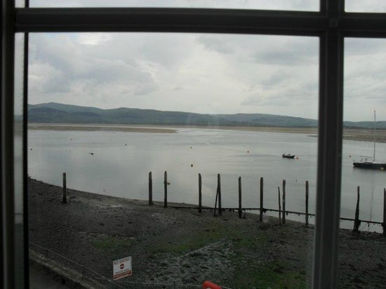 Penhelig Arms: View from living room