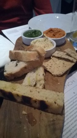 Market Lane : bread and dip