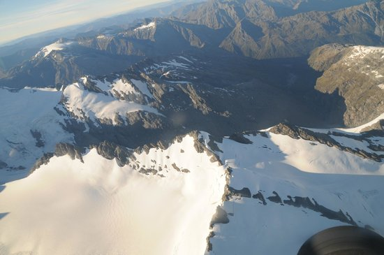 Southern Alps Air - Scenic Flights: View from the flight.