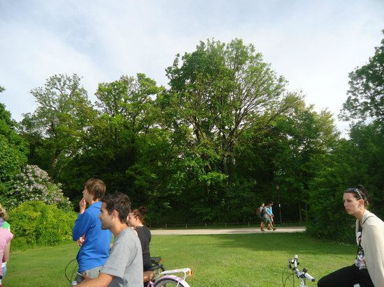 Mike's Bike Tours: At a park
