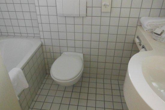 H+ Hotel Köln Hürth: バスルーム