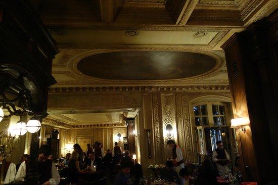 Café Pushkin: ambiente