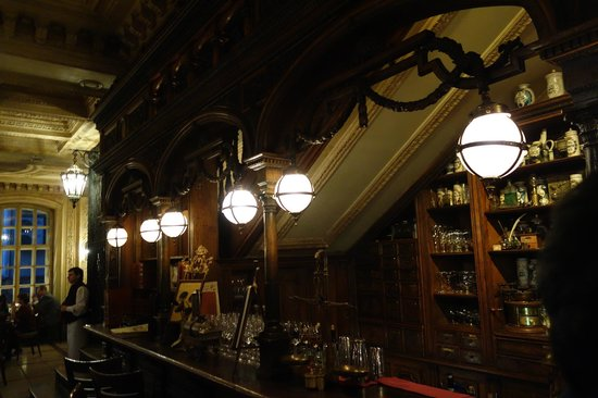 Café Pushkin : ambiente - bar