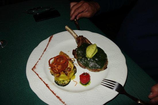 Café Pushkin: um prato