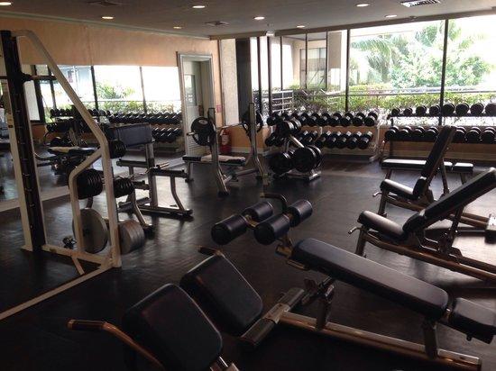 Edsa Shangri-La: Weight room