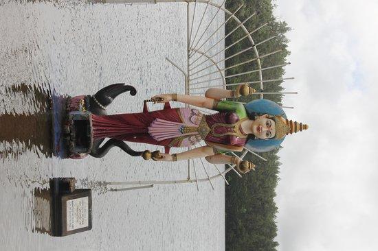 Ganga Talao - Grand Bassin: templo