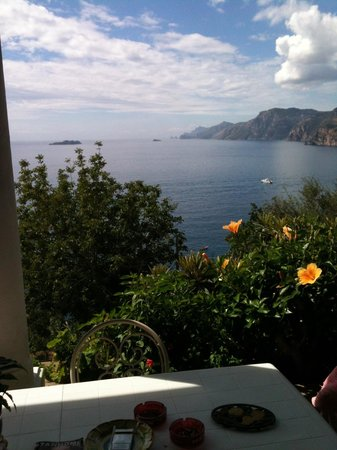 Pensione Casa Guadagno: Che panorama spettacolare !!!!