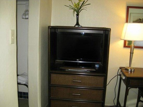 Maui Seaside Hotel : Smallish flat screen tv
