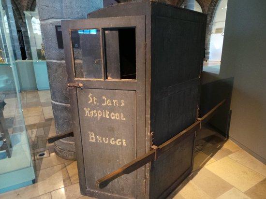 Sint-Janshospitaal : Transport back then