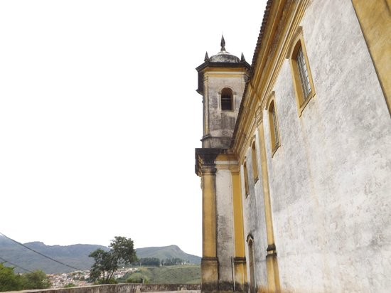 Sao Francisco de Paula church : Vista lateral