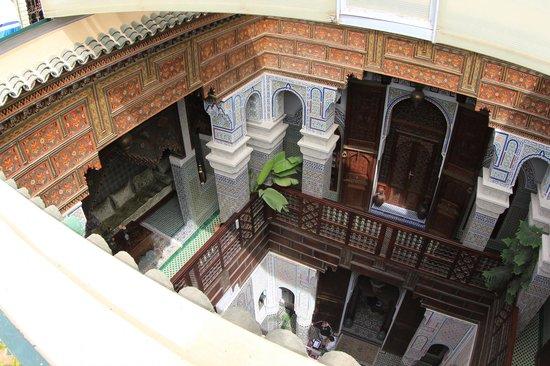 Riad Rcif : Vista geral do Hotel a partir do terraço