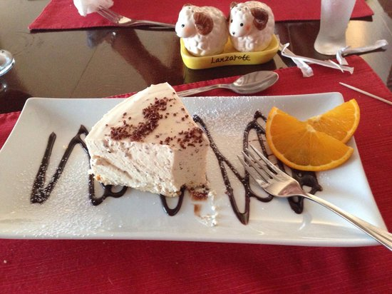 Bozena's Bar & Restaurant : baileys cheesecake that melted in my mouth.