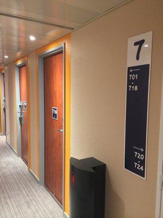 Ibis Budget Cannes Centre Ville: 7eme Etage