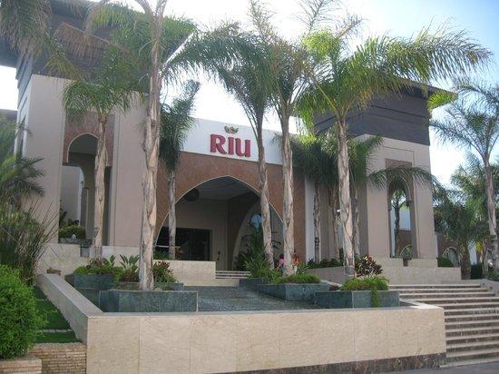 Hotel Riu Palace Tikida Agadir : Hotel front entrance