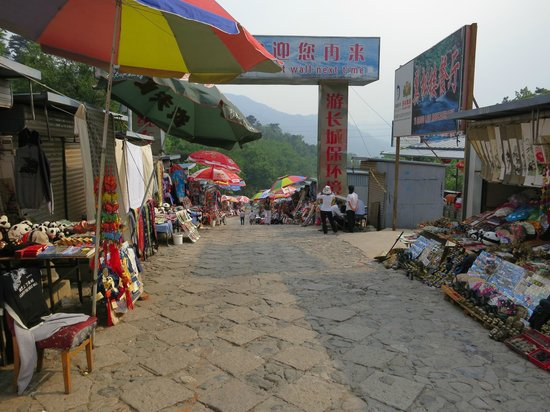Gran Muralla China en Mutianyu: Venta a salir de la muralla