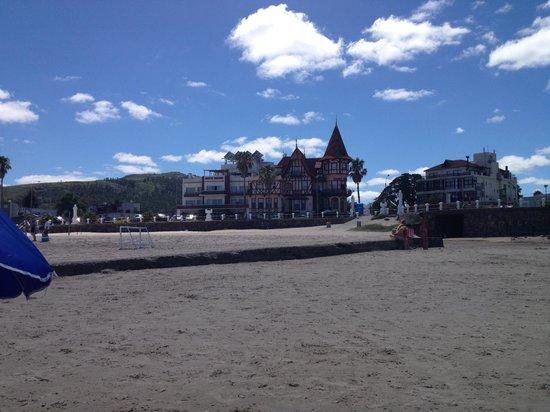 Hotel Colón: Vista desde la playa