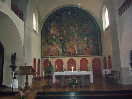 Shrine Of St. Joseph : Choeur de l'église