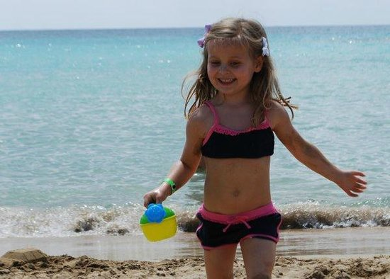 Coral Bay: all great fun on the beach