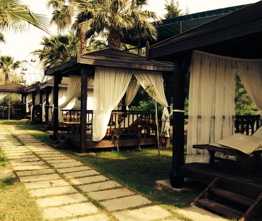 Mukarnas Spa Resort: By the beach
