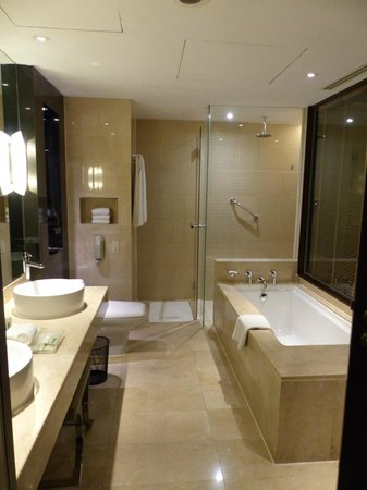 Holiday Inn Bangkok: Junior Suite Bathroom