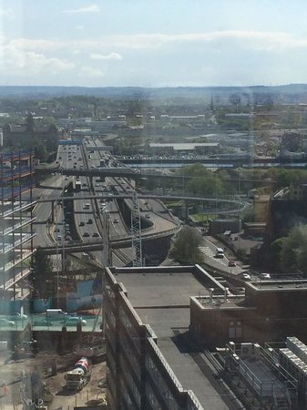 Premier Inn Glasgow City Centre (Charing Cross) Hotel: Brilliant view from the 11th floor :-)