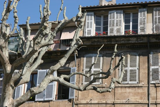 Vieil Aix: Particolare nel boulevard centrale