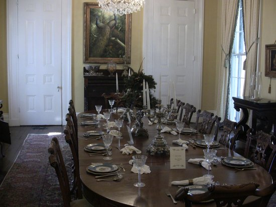 Nottoway Plantation : Dinner room