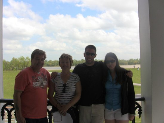 Nottoway Plantation : On the balcony