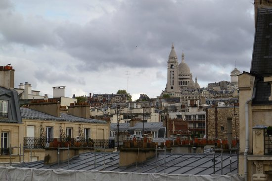 Hotel Prince Albert Montmartre : View of the Sacre Coeur