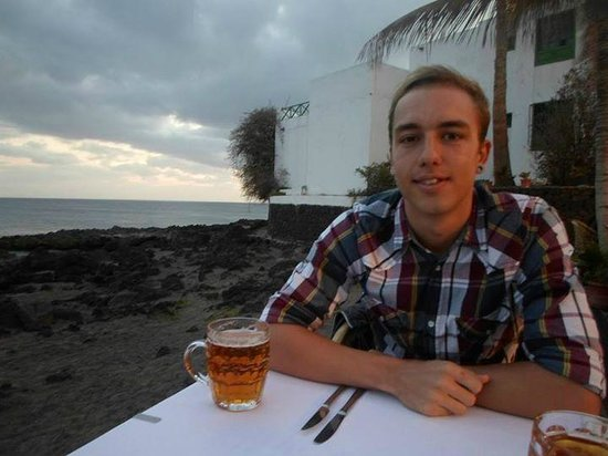 Restaurante Terraza Playa: Before the sunset