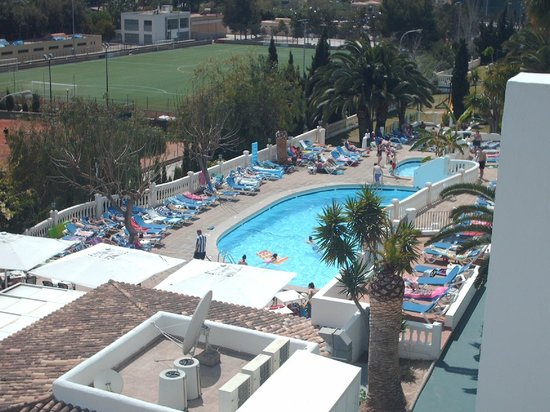Aparthotel Holiday Center: View from balcony